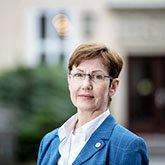 Das Bild zeigt Frau Dirks, Studiernreferentin Innenpolitik
