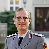 Porträtfoto Major i.G. Stefan Quandt