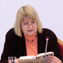 Vera Lengsfeld liest im Historischen Saal der BAKS aus ihrer Autobiographie vor.
