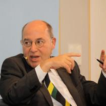 Portraitaufnahme von Dr. Gregor Gysi,Vorsitzender der Bundestagsfraktion der Linken