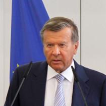 "Portraitaufnahme von Dr. Viktor A. Subkow, Ministerpräsident a.D., Ko-Vorsitzender des ""Petersburger Dialogs"""