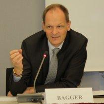 Portraitaufnahme von Dr. Thomas Bagger