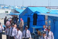 Besuch im syrischen Flüchtlingslager in Kilis.