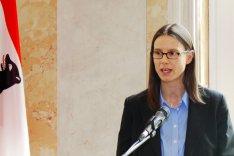 Staatssekretärin Dr. Katrin Suder hält Festansprache für die Verabschiedung des Kernseminars 2016 an der Bundesakademie für Sicherheitspolitik