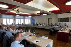 Die Offiziere des deutschen Militärattachélehrgangs 2013 werden an der Bundesakademie für Sicherheitspolitik zu aktuellen Fragen der Sicherheitspolitk unterrichtet.