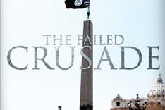 """Titelseite der Propagandazeitschrift """"Dabiq"""" des Islamischen Staats vom Oktober 2014 mit der Darstellung einer schwarzen Flagge, die über dem Petersplatz in Rom weht"""