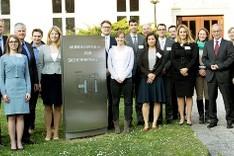 Gründungsmitglieder des Arbeitskreises Junge Sicherheitspolitiker