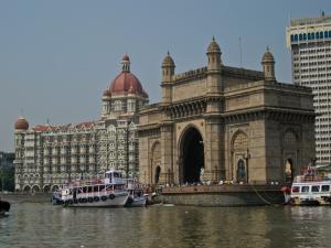 Zu sehen ist das Gateway of India in  Mumbai