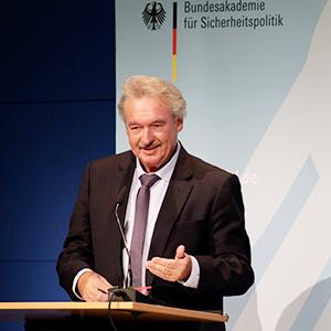 Jean Asselborn bei seiner Rede