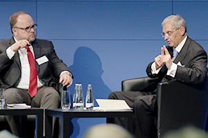 Professor Dr. Matthias Herdegen spricht zum Thema Strategic Foresight