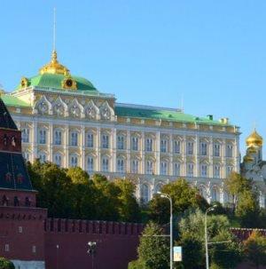 Kremel von Seiten der Moskwa