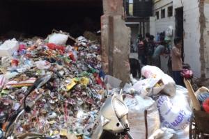 Große Mengen Müll