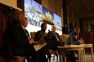 Dr. Sönke Neitzel spricht im vierten Panel.
