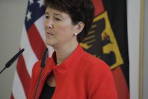Gesicht von Staatssekretärin Grundmann