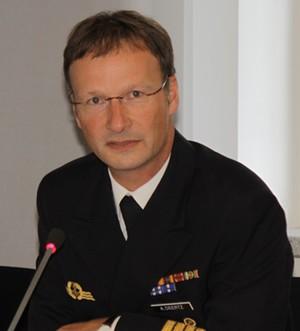 Kapitän zur See Axel Deertz