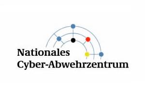 Das Bild zeigt das Logo des Nationalen Cyber-Abwehrzentrums.