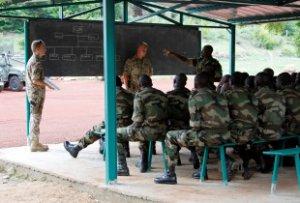 Ausbildung malischer Sicherheitskräfte