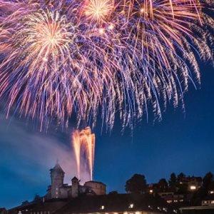 Feuerwerk in Schaffhausen
