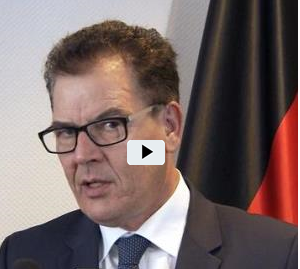Screenshot von Gerd Müller im Video-Interview