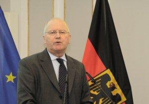 Portraitaufnahme von Klaus-Dieter Fritsche, Beauftragter für die Nachrichtendienste des Bundes im Bundeskanzleramt