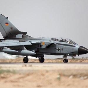 Foto eines Tornado Kampfjets