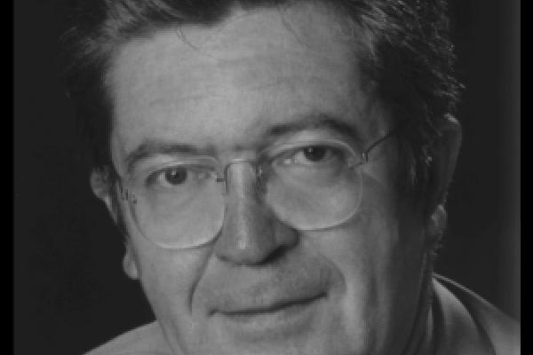 Porträtfoto in schwarz/weiß von Günter Joetze