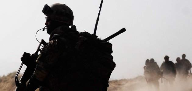 Scharfschütze in Afghanistan, 2010