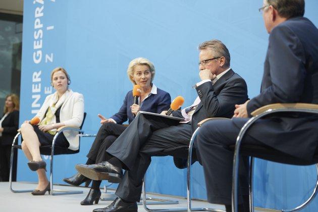 Podiumsdiskussion in der CDU-Zentrale