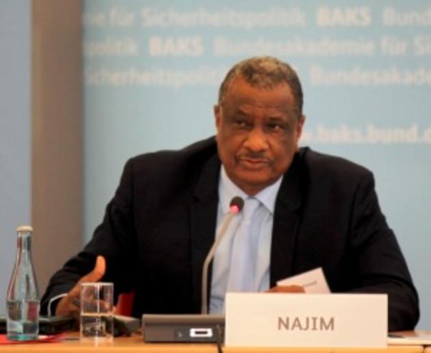 Der Generalsekretär der G5 du Sahel spricht an der BAKS