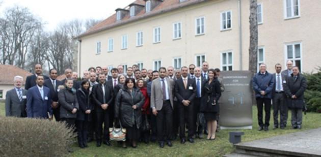 Teilnehmer des NATO Regional Cooperation Course und Vertreter der BAKS