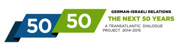 "Logo der Konferenzreihe ""50/50 – German-Israeli Relations. The Next 50 Years"""